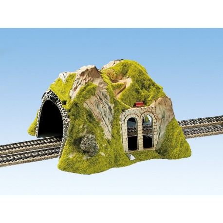 NOCH 02430 - Tunnel 2-gleisig, gerade, 30 x 28 cm