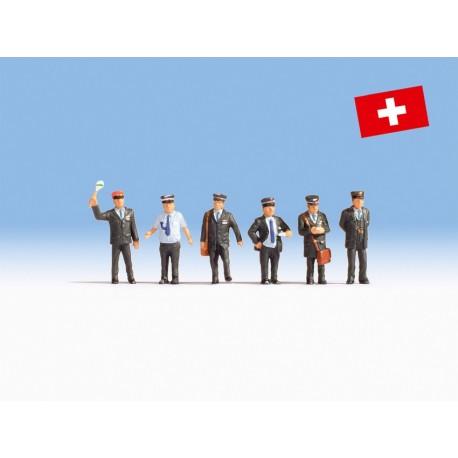NOCH 15266 - Bahnbeamte Schweiz