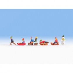 NOCH 15819 - Kinder im Schnee