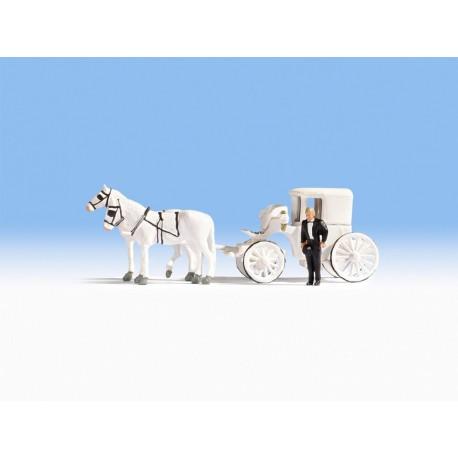 NOCH 16706 - Hochzeitskutsche