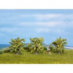 NOCH 25115 - Zitronenbäume, 3 Stück, 4 cm hoch