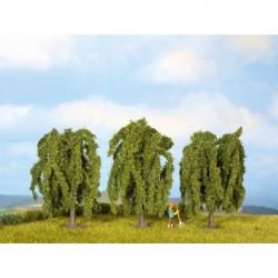 NOCH 25130 - Trauerweiden, 3 Stück, 8 cm hoch