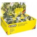 NOCH 25962 - Laub- und Nadelbäume mit Pflanzstiften, 100 Stück sortiert, Standard-Serie