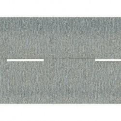 NOCH 34090 - Autobahn, grau, 100 x 4,8 cm (aufgeteilt in 2 Rollen)