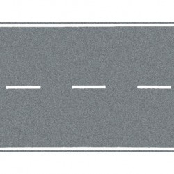 NOCH 34203 - Bundesstraße, grau, 100 x 4 cm