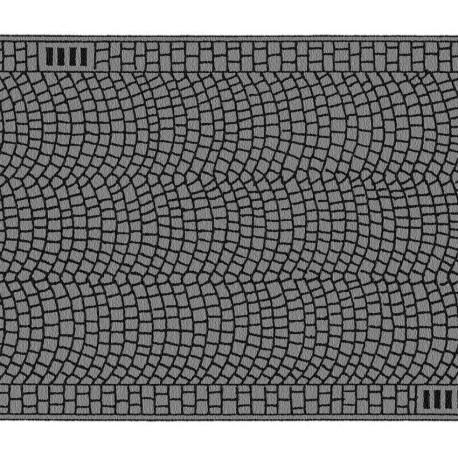 NOCH 34222 - Kopfsteinpflaster, 100 x 4 cm