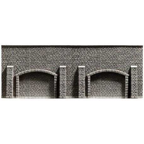NOCH 34859 - Arkadenmauer, extra lang, 39,6 x 7,4 cm