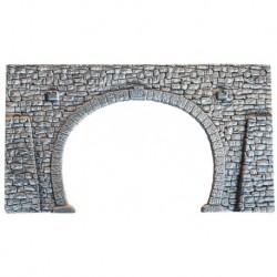 NOCH 34938 - Tunnel-Portal, 2-gleisig, 16 x 9 cm