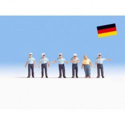 NOCH 36083 - Verkehrspolizisten Deutschland
