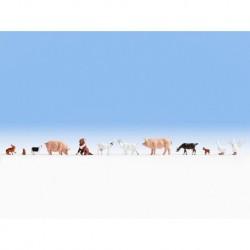 NOCH 36711 - Tiere auf dem Bauernhof