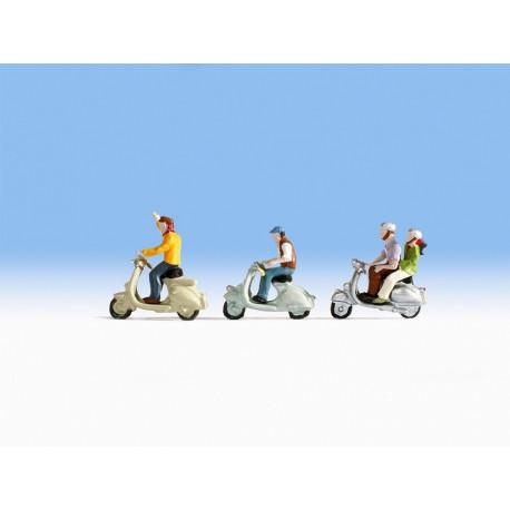 NOCH 36910 - Motorrollerfahrer