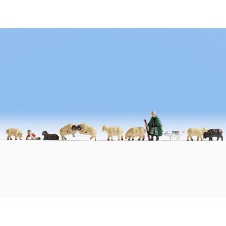 NOCH 45750 - Schafe und Schäfer