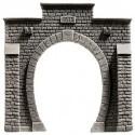 NOCH 48051 - Tunnel-Portal, 1-gleisig, 10 x 10 cm