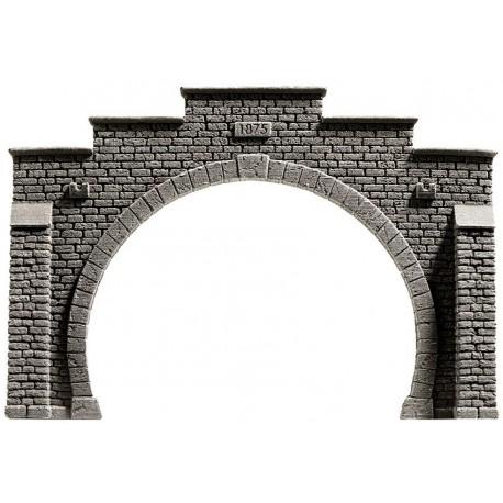 NOCH 48052 - Tunnel-Portal, 2-gleisig, 16 x 10,5 cm