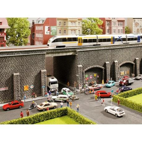 NOCH 48056 - Stützmauer, 25,8 x 9,8 cm