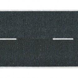 NOCH 48410 - Teerstraße, schwarz, 100 x 4,8 cm (aufgeteilt in 2 Rollen)