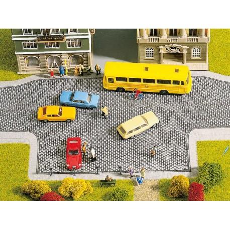 NOCH 48570 - Pflasterplatz, 20 x 10 cm