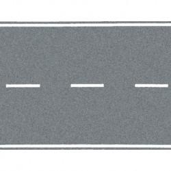 NOCH 48583 - Bundesstraße, grau, 100 x 6,6 cm