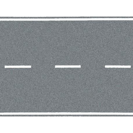NOCH 48589 - Landstraße, grau, 100 x 4 cm