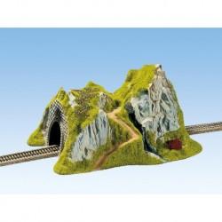 NOCH 48670 - Tunnel, 1-gleisig, gerade, 31 x 18 cm