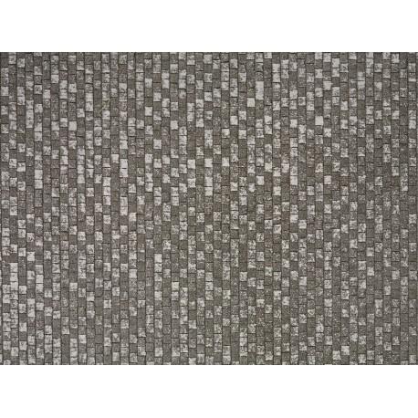 NOCH 56204 - Pflasterplatz, grau und Abschlusskanten extra
