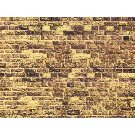 """NOCH 57750 - Mauerplatte """"Sandstein"""", extra lang"""