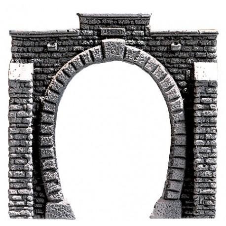 NOCH 58010 - Tunnel-Portal, 1-gleisig, 12 x 12 cm
