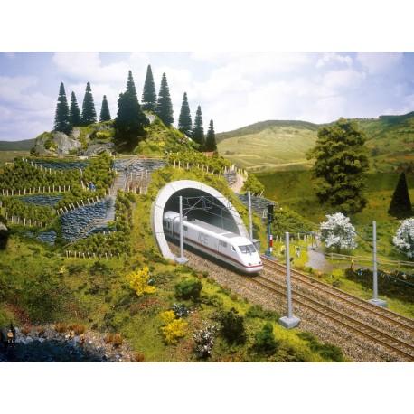NOCH 58040 - ICE Tunnel-Portal, 18 x 23 cm