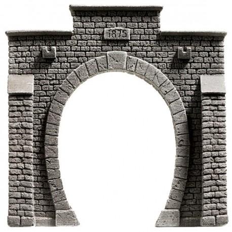 NOCH 58051 - Tunnel-Portal, 1-gleisig, 13,5 x 12,5 cm