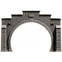 NOCH 58052 - Tunnel-Portal, 2-gleisig, 21 x 14 cm