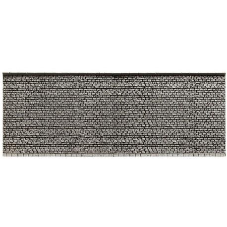 NOCH 58055 - Mauer, extra lang, 66,8 x 12,5 cm