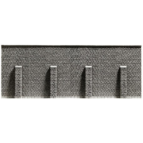 NOCH 58056 - Stützmauer, 33,4 x 12,5 cm
