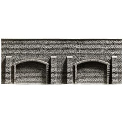 NOCH 58058 - Arkadenmauer, 33,4 x 12,5 cm