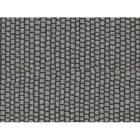 NOCH 60440 - Altstadtpflaster, 100 x 5 cm (aufgeteilt in 2 Rollen)