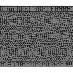 NOCH 60722 - Kopfsteinpflaster, 100 x 6,6 cm