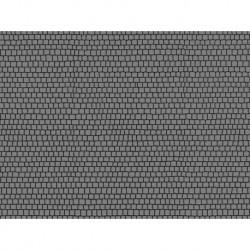 NOCH 60724 - Kopfsteinpflasterplatz, 2 Stück, je 22 x 14 cm