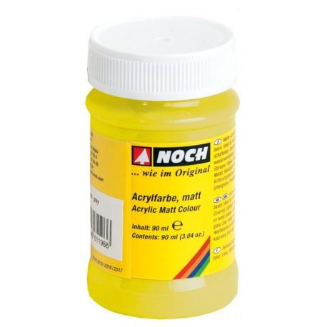 NOCH 61186 - Acrylfarbe, matt, gelb