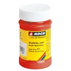 NOCH 61187 - Acrylfarbe, matt, rot