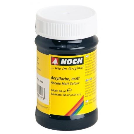 NOCH 61197 - Acrylfarbe, matt, schwarz