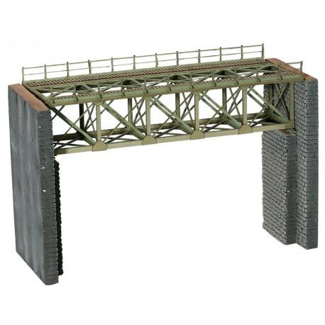 NOCH 67010 - Stahlbrücke, 18,8 cm lang