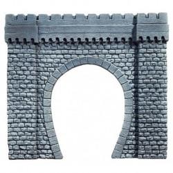 NOCH 67350 - Tunnel-Portal, 1-gleisig, 44 x 37 cm