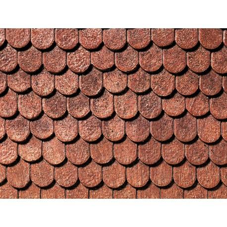 NOCH 67700 - Dachplatte Biberschwanz