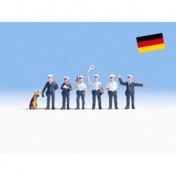NOCH 36091 - Polizisten Deutschland