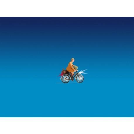 NOCH 17570 - Radfahrer, beleuchtet