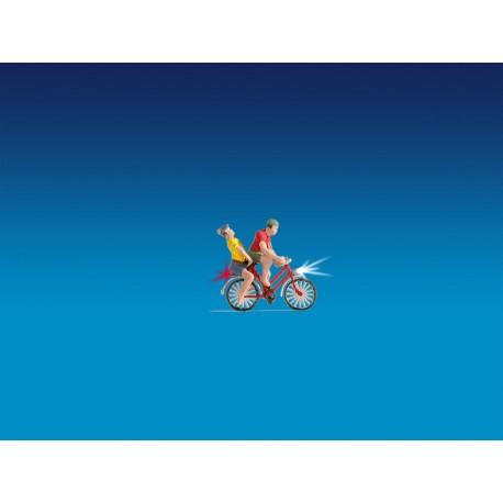 NOCH 17571 - Radfahrer, beleuchtet