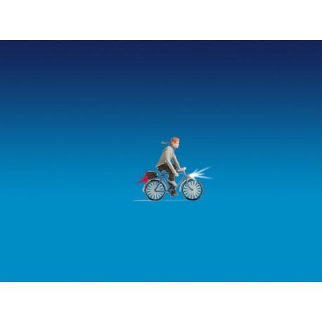NOCH 17572 - Radfahrer, beleuchtet