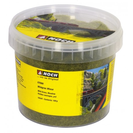 NOCH 07090 - Wildgras Wiese, 6 mm