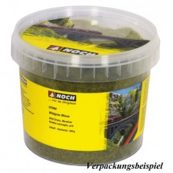NOCH 07094 - Wildgras, dunkelgrün, 6 mm