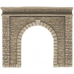 NOCH 58061 - Tunnel-Portal, 1-gleisig, 15 x 12,5 cm
