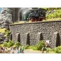 NOCH 58062 - Tunnel-Portal, 2-gleisig, 22 x 13 cm